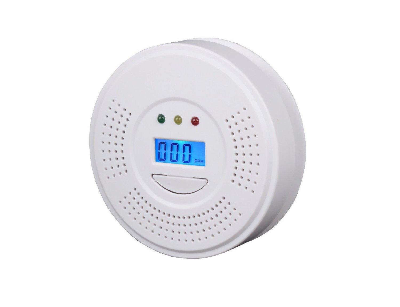 CO Carbon Monoxide Poisoning Gas Sensor Warning Alarm LCD Detector Tester RH-105 /ITEM#HGO-IW 73ET28839
