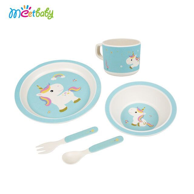 Disposable Eco-Friendly Bamboo Tableware Children\u0027s Melamine Tableware Kids Bamboo Dinnerware Set Unbreakable Dinner Plate  sc 1 st  Alibaba & Buy Cheap China kids melamine dinner sets Products Find China kids ...