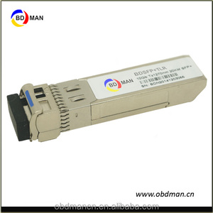 10G sfp media converter 20km 1330/1270nm LC WDM SFP+ Module gepon olt sfp