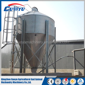 Automatic Silo Cleaning Equipments/Poultry Feeding System/Grain Storage Silo Prices