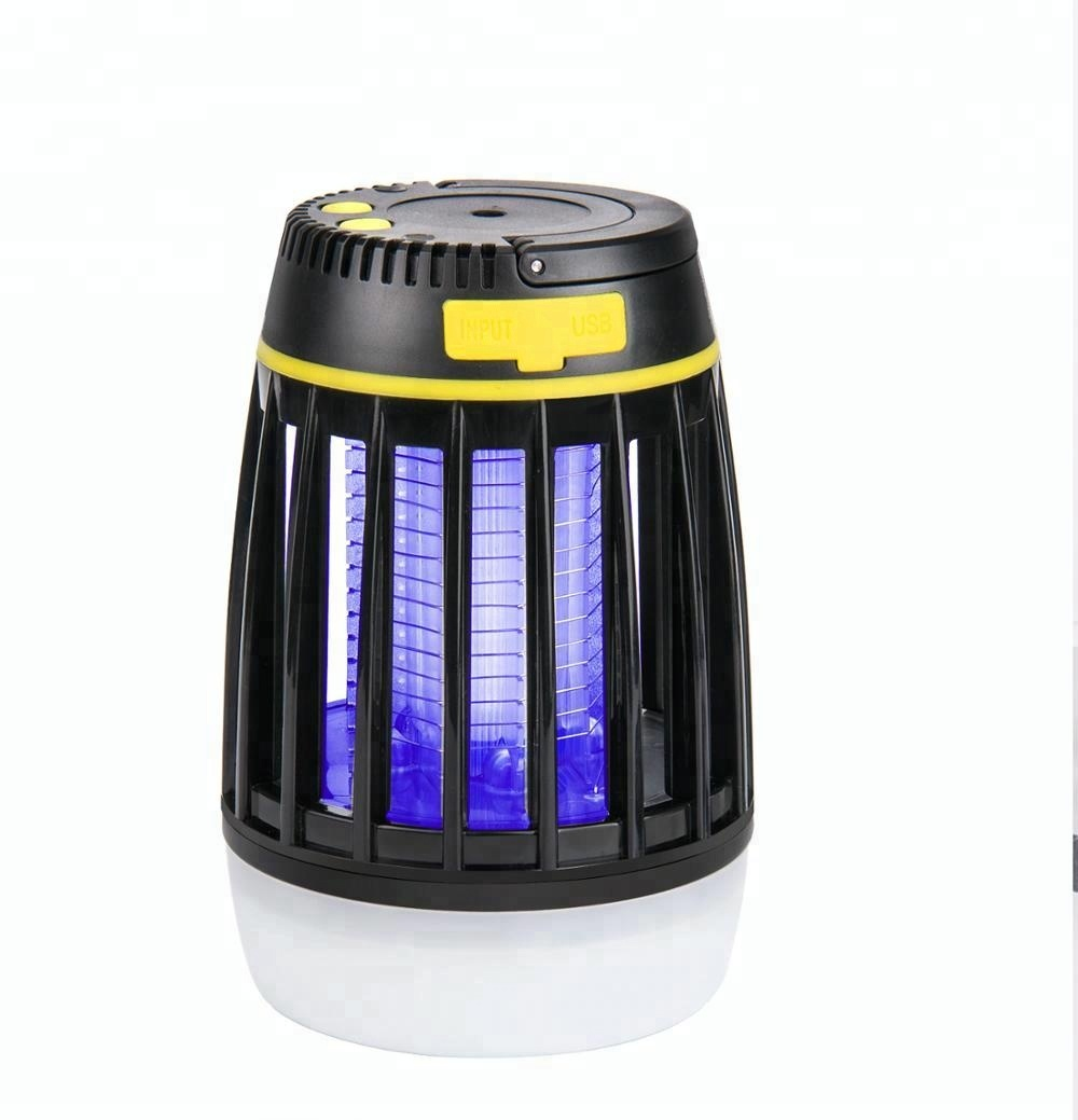 3-in-1 Outdoor Camping Lantern Tent Light <strong>Electronic</strong> <strong>Mosquito</strong> <strong>Killer</strong>
