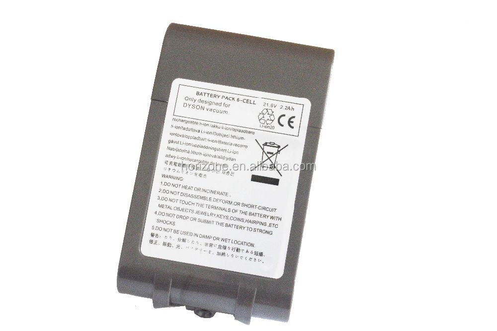 2200mah replacement vacuum cleaner li ion battery for dyson v6 dc58 dc59 dc61 dc62 animal. Black Bedroom Furniture Sets. Home Design Ideas