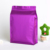 Custom printed eight side gusset seal bag with zipper aluminum foil food standing pouch