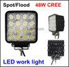 2015 hot sale 48w led work light spot light for offroad 4x4 4wd truck atv suv