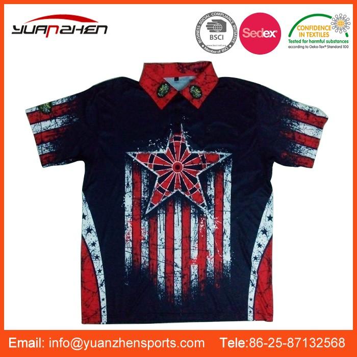 01 Wholesale Cheap Customize Darts Shirts For Men Buy