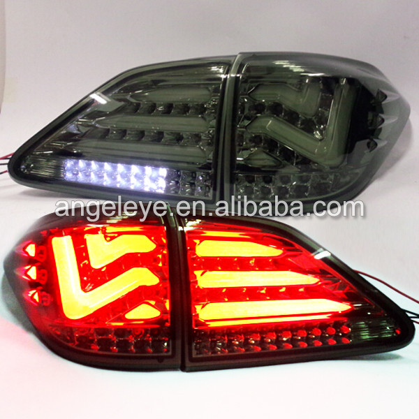 For Lexus RX270/RX350/450 LED Tailights Smoke Black color 2009 -2012 year LH