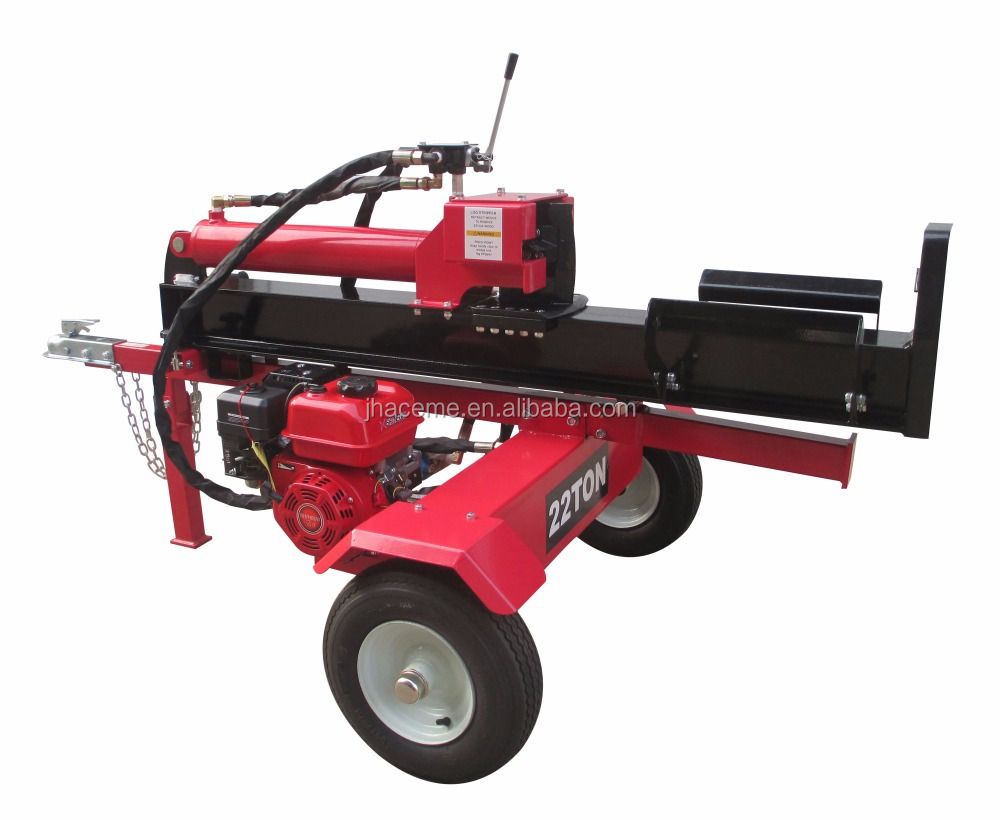 22T Gasoline Engine Wood Log Splitter for Sale with CE EPA
