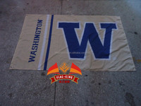 free shipping College banner University of Washington Educational institution flag,100% polyester flag,3*5 foot, NFL,NHL