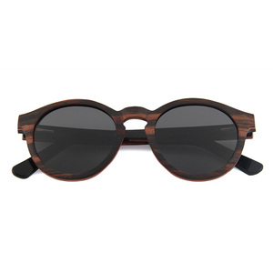 2018 new arrival fashion spring hinge polarized skateboard wooden sunglasses