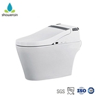 Auto Lid Automatic Water Spray Smart Hygiene Toilet With Sensor Seat