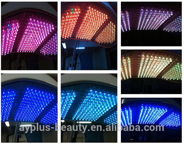 AYJ-M13 led red light skin rejuvenation/ led lamp facial therapy/led red light beauty lamp