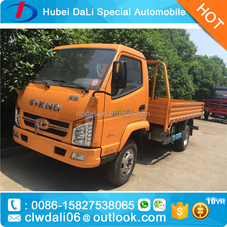 T-king 5 ton small 4x4 and 4x2 diesel light cargo truck from china