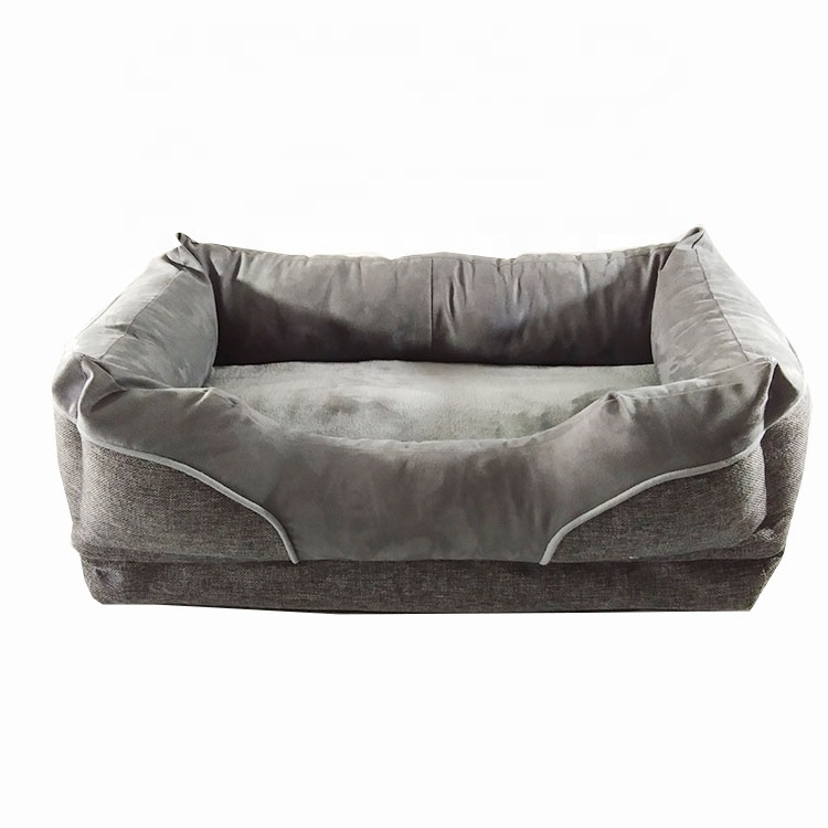 Fabric Sofa Cave Bed Luxury Dog Beds