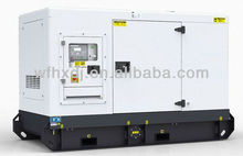 100KW silent diesel generator, silent power genset, silent electric generator with CE