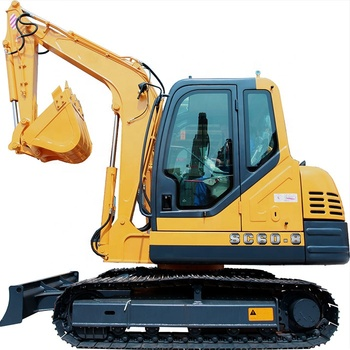 China 6t Excavator Supplier Japan Diesel Engine Best Steel Track 0.22m3 Bucket Imported Hydraulic Small Crawler Excavator