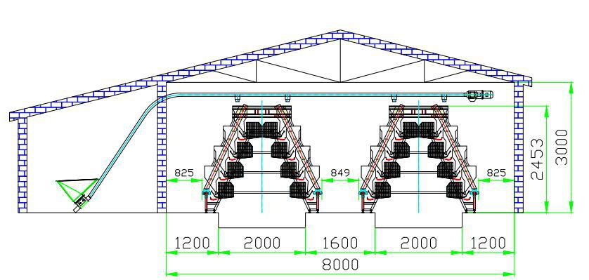 Layout Poultry Farm House Equipment For Egg Farms Buy
