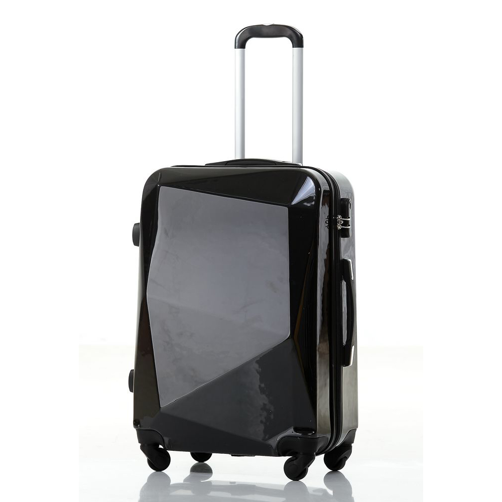 diamond cut design abs/abs+pc eminent luggage
