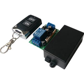 12v Wireless Remote Switch Long Range 433mhz Remote Control On Off Switch -  Buy Wireless Relay 12v Switch,Wireless Remote Motor Control Switch,Gate