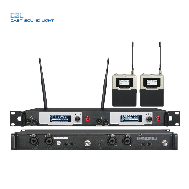2 قناة المهنية اللاسلكية في نظام مراقبة الأذن للمرحلة