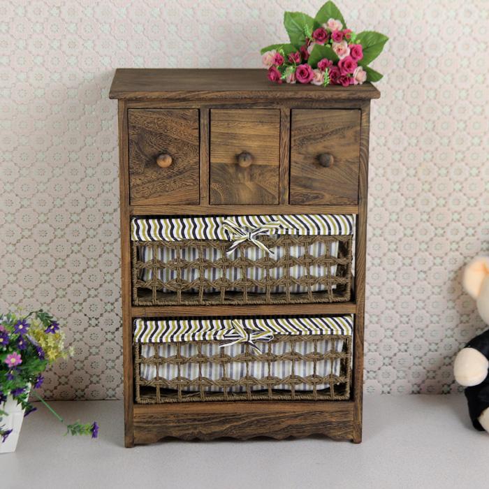 Gabinete de papel coreano pintado a mano muebles de madera - Muebles de madera pintados a mano ...