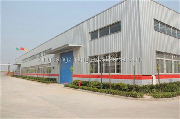 practical designed industry iron structure warehouse building