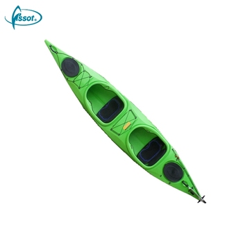 Hot sale propel jet powered clear sea 2 person sale PE barato fishing canoe kayak