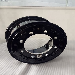 20*10 special aluminum wheels hot sale forged max loading wheel