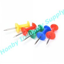 Office Bindtoebehoren Diverse Kleuren Handvat Vormige Plastic Push Pin In 9523