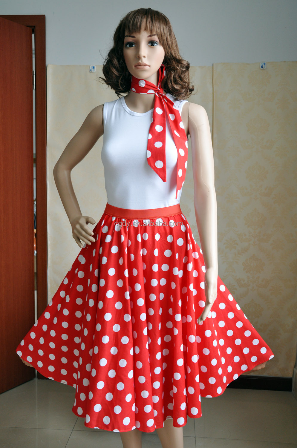 2015 Wholesale Supplier 50s 60s Style Rockabilly Retro Vintage Bridesmaid Wedding Party Dress Floral Patterns