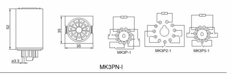 MK3P-I,MK2PN-I,MK3PN-I general electric ( latching relay,relay)