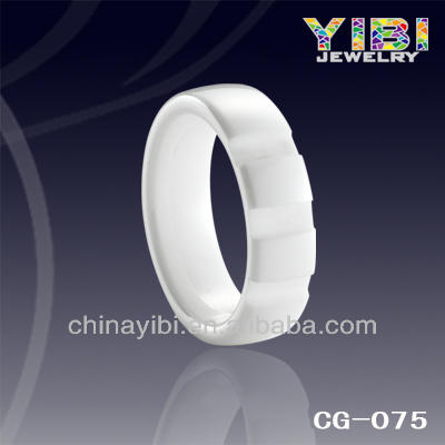 mens white ceramic wedding rings, match silver and diamond ceramic ring