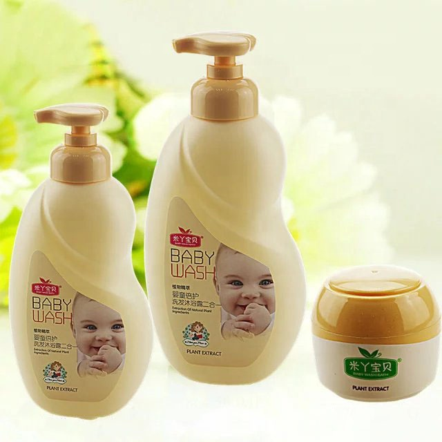 2018 kids leuke plastic schuim pomp lotion lege bubbelbad wahs fles en potten set 60g 300 ml 500 ml