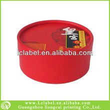 Special round paper mooncake box for gift packaging