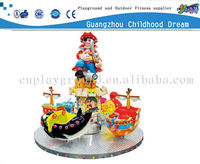 (HD-10802)Cool!Pirate Ship Design Up and Down Merry Go Round for Sale