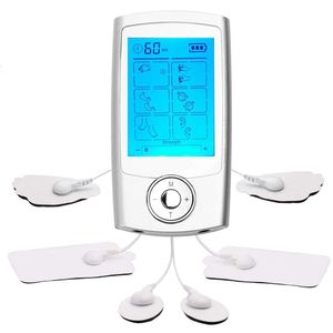 TENS Massage 16 Modes Electric Pulse Pain Relief Machine Dual Channel to Stimulate the Muscles, EMS Portable