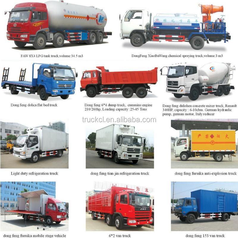 4x2 Mini Light Foton Right Hand Drive Truck 6wheels Diesel