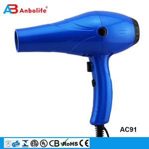 Anbolife 2600 2500 2400W high power professional salon hair dryer cordless battery rechargeable wall mounted infrared hair dryer