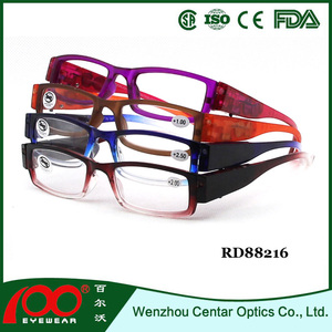 2015 wholesale led reading glasses,fake designer optic reading glasses,Classical reading glasses with LED light