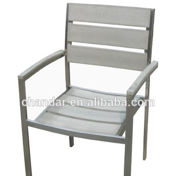 Aluminum Frame Outdoor Furniture Poly Wood Chair Buy Polywood