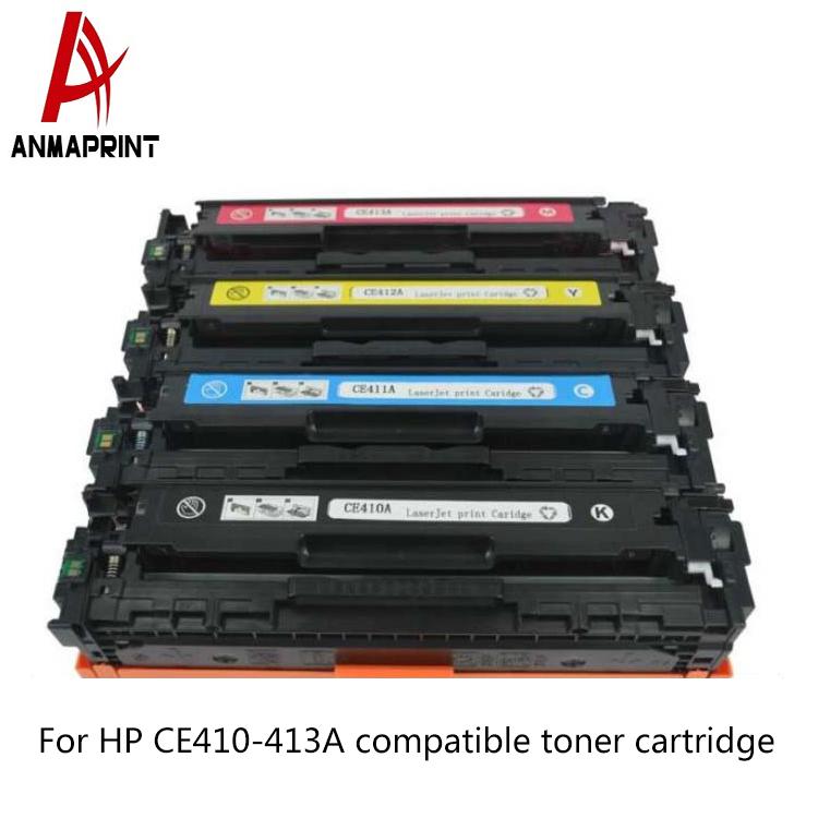 8PK CE410A 411A 412A 413A Toner Set For HP 305A LaserJet Pro 400 color M451dw