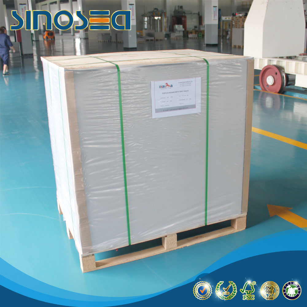 Stocklot paper offset printing single side coated duplex card board paper reels