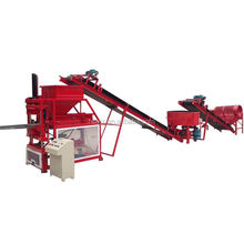 Hor selling wt1-10 clay roof tiles making machine sy1-10 soil earth brick machine small scale industry machine