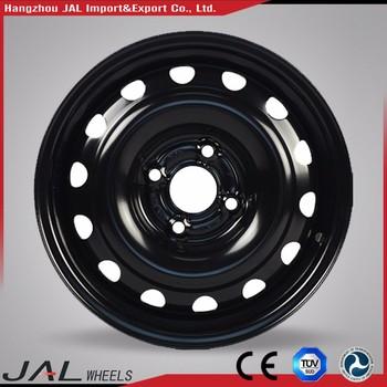 High Precision Deep Dish Car Wheel Rims 4x100 Steel Wheels Auto