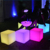 New product mini party led bistro club bar plastic glowing cube coffee table outdoor