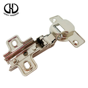 Wholesale market double or four holes iron nickel position pole hinge for wood box