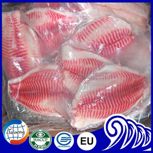 Belly off Tilapia Fillet with 100%N.W.