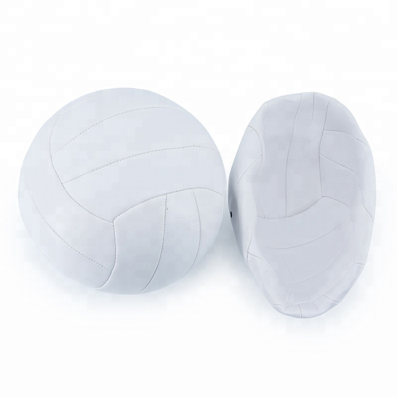 Machine sewing 2.5mm PVC volleyball ball
