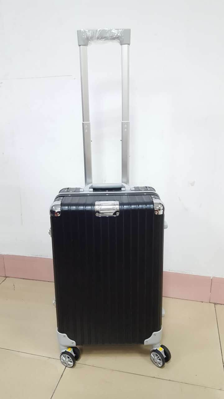 Super Aluminum Trolley Accessory Travel Eminent Suitcase