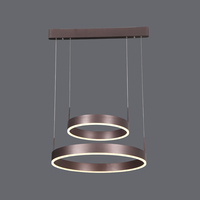 Circular Chandelier simple urban style LED Pendant Lights