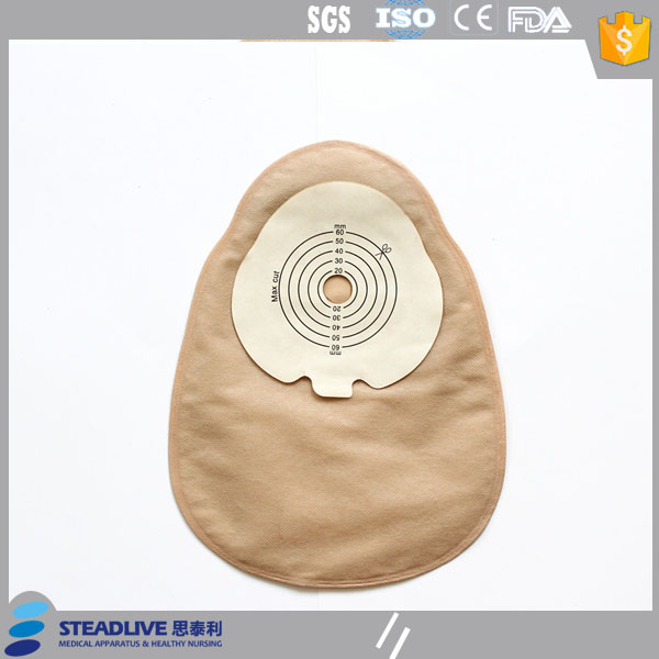disposable colostomy one piece closed ostomy bag